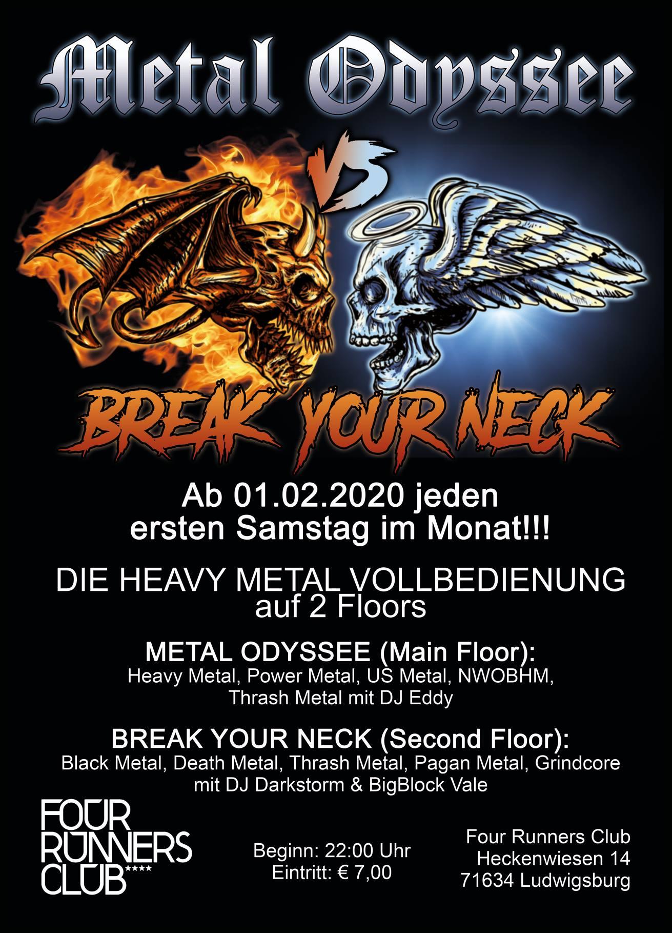 Metal Odyssee vs Break Your Neck