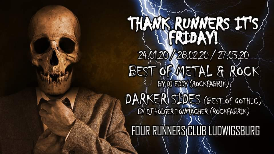 THANK RUNNERS IT'S FRIDAY